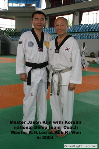 Master Kim with GM K.H.Lee