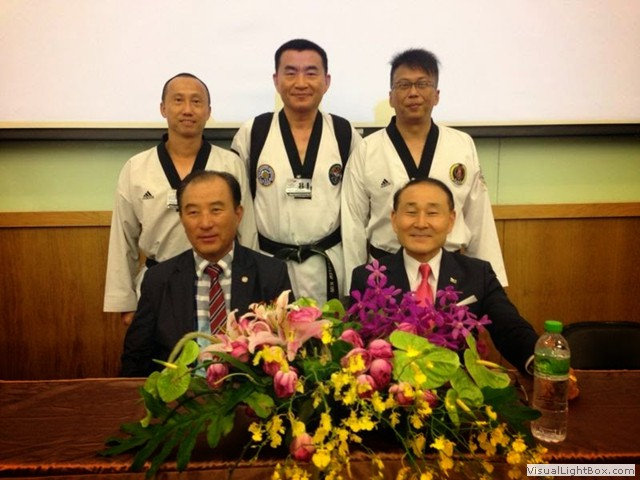 With WTF Poomsae Masters-2014